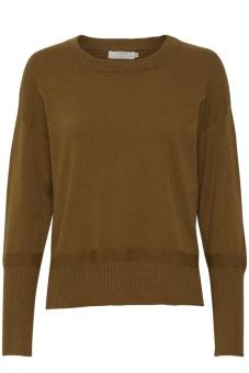 Cream Amandine Knit pullover Bronzed