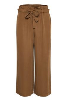 Cream Gaya Culotte Pants Bronzed