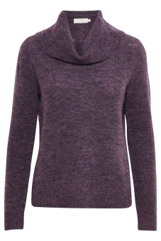 Cream Kaitlyn Turtleneck Plum Perfect