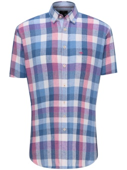 Fynch Hatton Linen Blend Summer Check