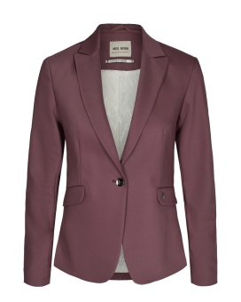 MosMosh Blake Night Blazer Sustainable Wild Plum