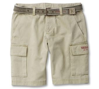 Sebago Outwashed belt beige