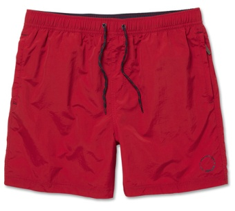 Sebago Waldo Packable swim shorts Red