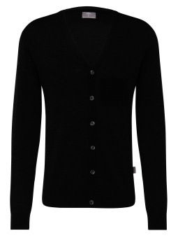 Fynch Hatton, Cardigan, Black