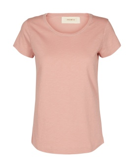 Mosmosh Arden O-neck Tee Soft Rose
