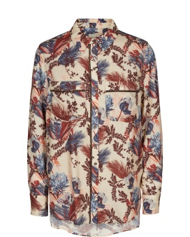 MosMosh Kelly Beaux Shirt Wild Plum Flower