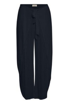 Cream Sadie Pants Royal Navy Blue