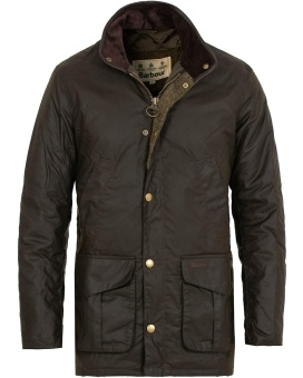 Barbour Hereford Wax Jacket - Olivie