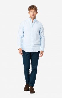 Boomerang Banker Stripe Oxford Shirt Regular Fit