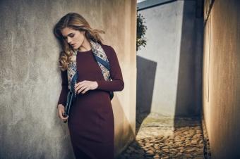Stenströms Knit R-neck dress