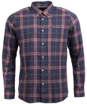 Barbour Highland Check 7 Tailored - Charoal