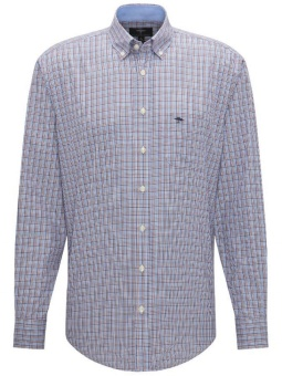 Fynch Hatton Supersoft Cotton Shirt Zinfandel