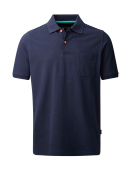 Clipper Polo pique chest pocket 52