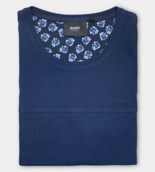 Dahlin Piké T-Shirt Mörkblå