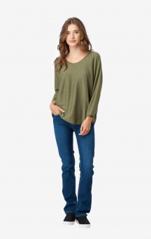 Boomerang O-Neck Sweater Planta