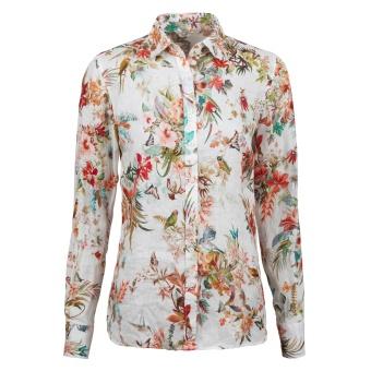 Stenströms Shirt Linen Flower