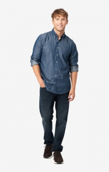 Boomerang Indigo Dot Shirt Regular BD Indigo