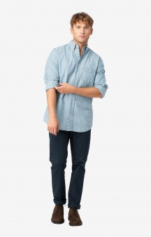 Boomerang Chambray Shirt Slim Fit