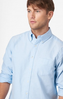 Boomerang Solid Oxford Shirt Regular Fit