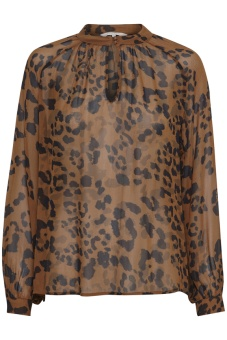 Part Two Tali Leopard Print Brown