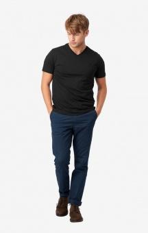 Boomerang Jarl V-neck T-shirt Black
