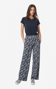 Boomerang Hulda Printeed Trouser Blue Nights