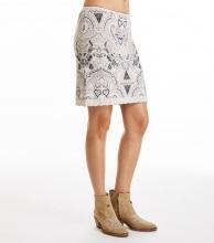 Odd Molly Breakpoint Skirt Light Porcelain