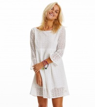 Odd Molly Blousy Dress Light Chalk