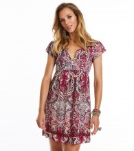Odd Molly Beauty Call Dress Hot Plum