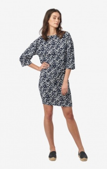 Boomerang Nora Printed dress Blue nights