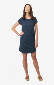 Boomerang Millie Interlock Dress Blue Nights
