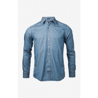 Boomerang TA. Fit C.C. Indigo shirt