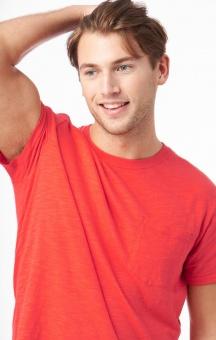 Boomereang Elliot Slub T-shirt Tomato Red