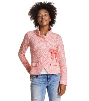 Odd Molly Lovely knit jacket Light Candy