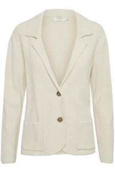 Cream Longo Cardigan Cream White