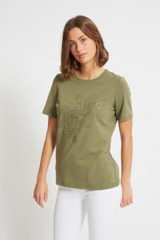 Laurie Loren Flower Tshirt