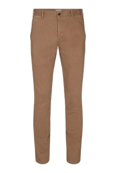 Sunwill Chino Fitted Fit Dark Sand