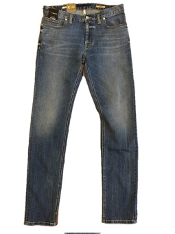 Alberto Slim Dual FX denim blue