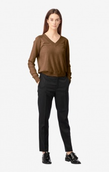 Boomerang Sala V-neck Sweater Cinnamon