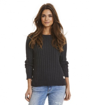 Odd Molly Ribbey sweater almost black