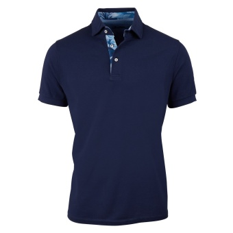 Stenströms Polo shirt with Contrast