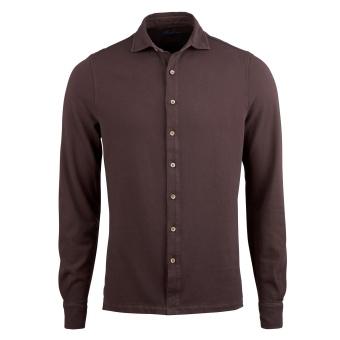 Stenströms Pique shirt pigment dyed