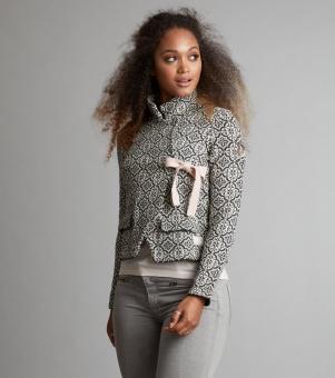 Odd Molly Lovely knit jacket Almost Black