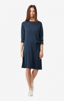 Boomerang Lou Knitted Dress Bright Nautic