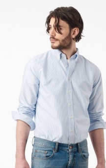 Boomerang Nils Organic Cotton Solid Oxford T.A Fit