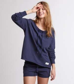 Odd Molly Primetime Sweater Dark Blue