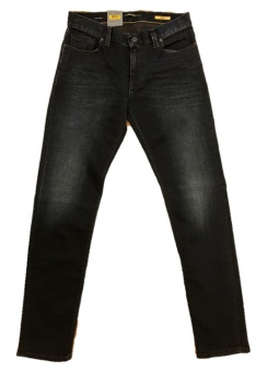 Alberto Slim Triple Dyed Denim Grey Melange