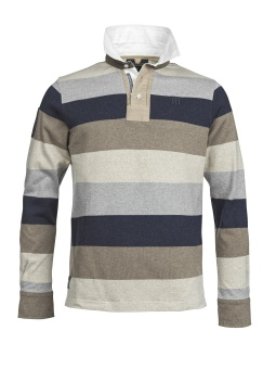 Hansen & Jacob Multi Y.D Block Stripe Rugger Multi Colour