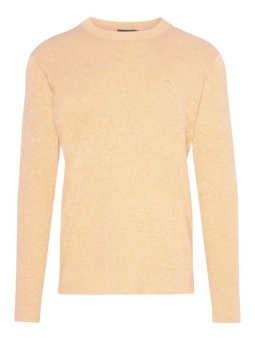 J.Lindeberg Niklas R-Neck Refined Cotton Cool Peach