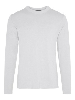 J.Lindeberg Niklas R-neck Refined Cotton Stone Grey